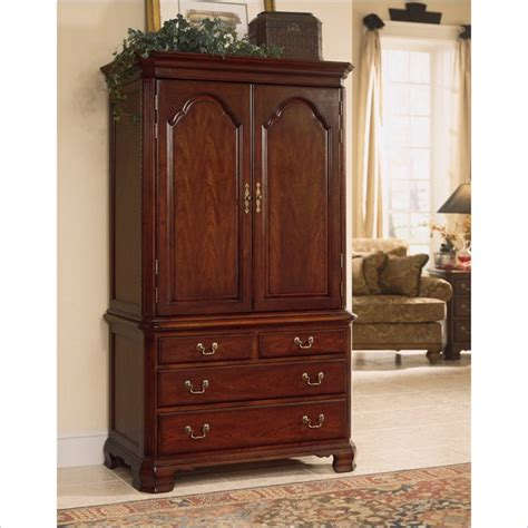 cherry armoire american drew cherry grove tv wardrobe armoire in antique cherry