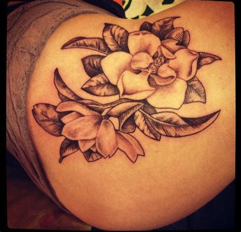 tattoo magnolia flower magnolia flower tattoo tattoo u pinterest