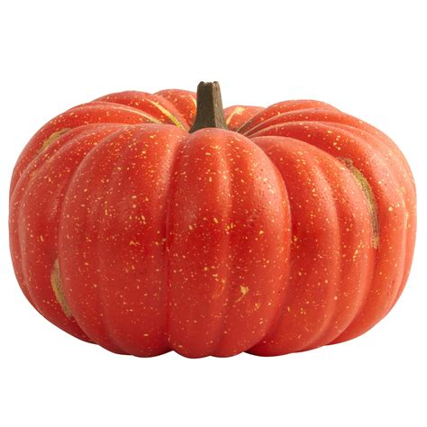 15 inch wide artificial perfect pumpkin 4808