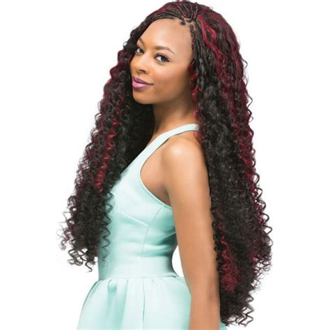 bohemian hair weave for black women outre x pression braid bohemian curl 24 quot braided weave