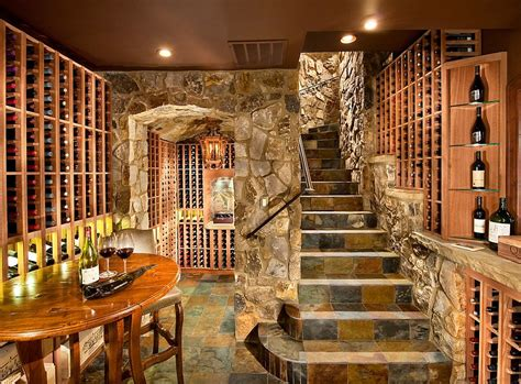 wine cellars design connoisseur s delight 20 tasting room ideas to complete