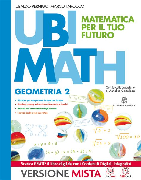 test ingresso seconda media matematica ubimath