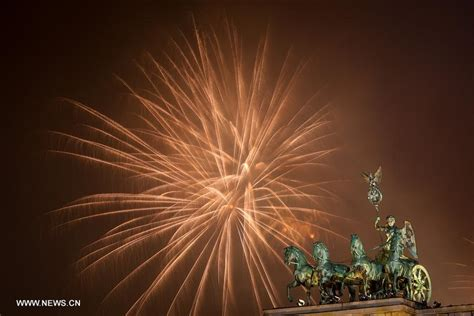 2016 new year celebreated in germany xinhua english