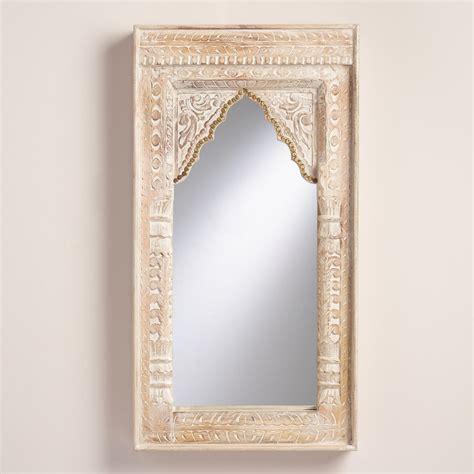 Home Design Decor Shopping Online oversized ivory carved wood mirror world market