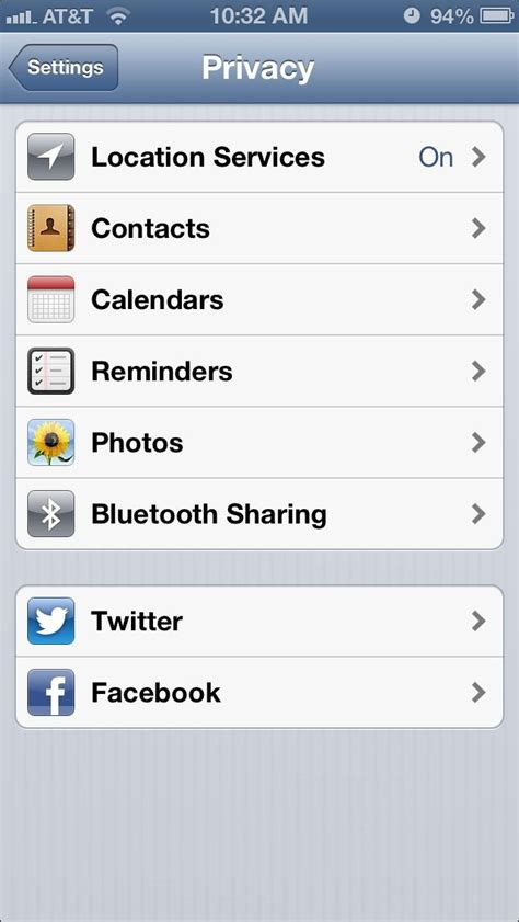 how to grant or deny access to your location with ios 6 privacy controls imore