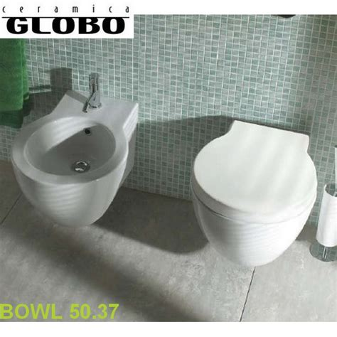 bidet in tagalog serie bowl globo coppia sanitari sospesi bowl 50 37