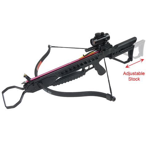 jaguar 175 lb crossbow ebay 175 lb black camouflage hunting crossbow bow 7 arrows