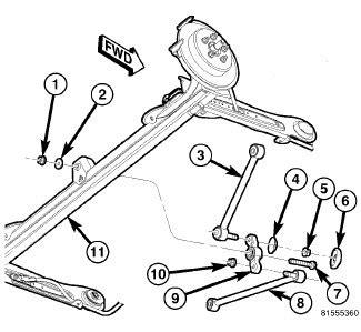 pt cruiser rear suspension diagram 2001 pt cruiser rear suspension diagram