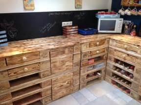Best Wood For Kitchen Countertops - creative uses for old pallets diy
