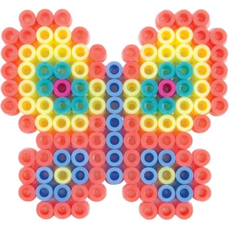 bead fusion perler fusion bead pegboards 5 pack large shapes