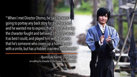 aktor film rurouni kenshin what rurouni kenshin actors think of their characters