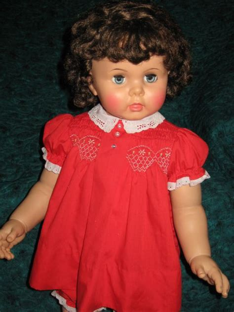 how rare is blackhair rare brunette ideal penny playpal doll vintage dolls