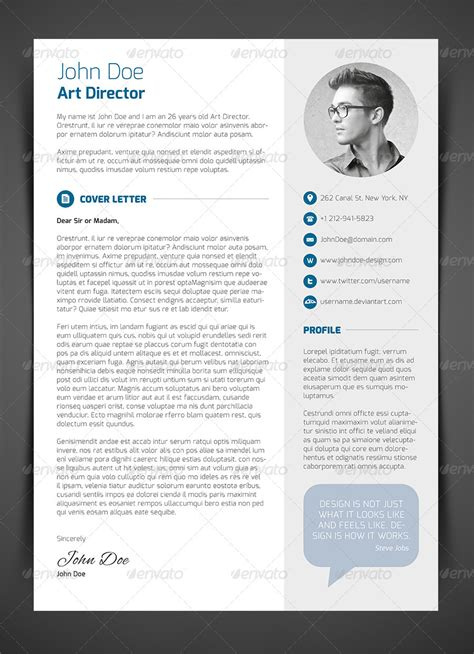 most creative cover letters premium resume templates available for