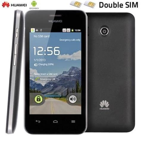 Handphone Huawei Ascend Y320 huawei ascend y320 noir 2 sim 3g android 2 3 achat