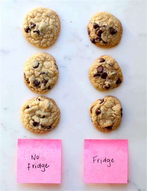 Do Cookies Make You Shop by Does Refrigerating Cookie Dough Make A Better Cookie