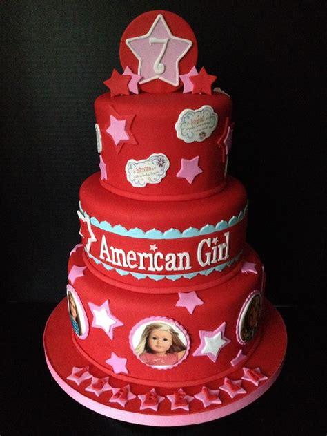 american girl cakes ideas  pinterest american girl parties american girl birthday