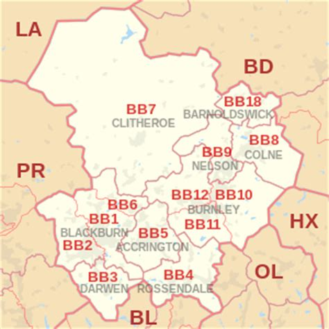 bb postcode area wikipedia