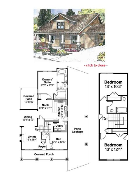 Craftsman Cottage Floor Plans | craftsman bungalow plans find house plans