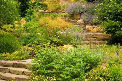imagenes de jardines en terrenos inclinados 191 c 243 mo dise 241 ar un jard 237 n con desniveles