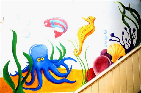 painting for juniors mural school wall painting