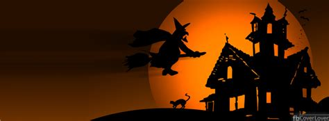 facebook halloween themes scary house halloween facebook cover fbcoverlover com