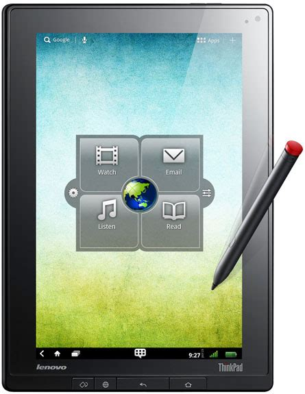 Tablet Lenovo Update Lenovo To Update Thinkpad Tablet To Sandwich In May Pocketnow