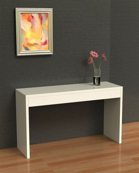 White Hallway Console Table Northfield Collection Wood Console Hallway Sofa Table White 111091w Ebay