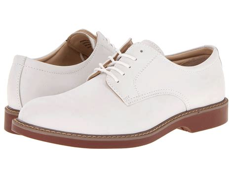 bass pasadena white s lace up casual shoes