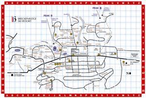 map of breckenridge colorado breckenridge ski resort trail map