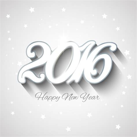 new year 2016 white background white new year 2016 background vector free