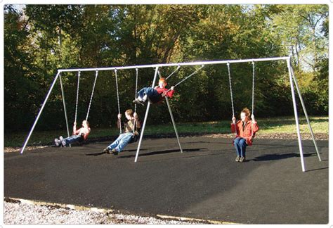 swing in playground primary bipod swings playground equipment for commercial