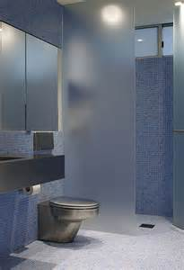 glass doors small bathroom: frosted glass for privacy in the bathroom