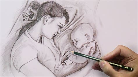 gallery free 3d drawing downloads drawing art gallery mother s love pencil sketch pencil art mother love