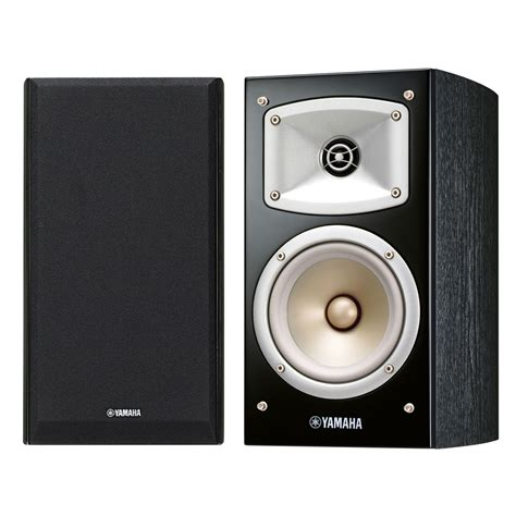 yamaha nsb330 bookshelf hi fi speaker pair black at