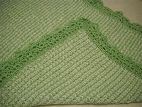 tunisian crochet baby blanket crochet