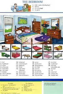 Esl Apartment Lesson 13 The Bedroom Pictures Dictionary Study
