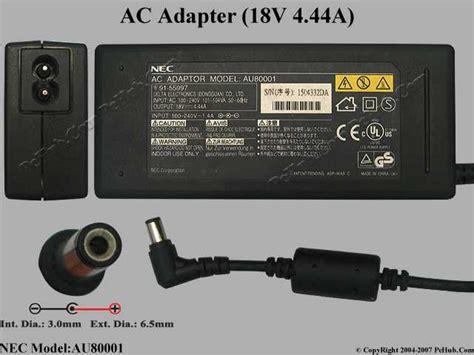 Adaptor Laptop Nec nec common item nec ac adapter laptop au80001 adp 90ab c