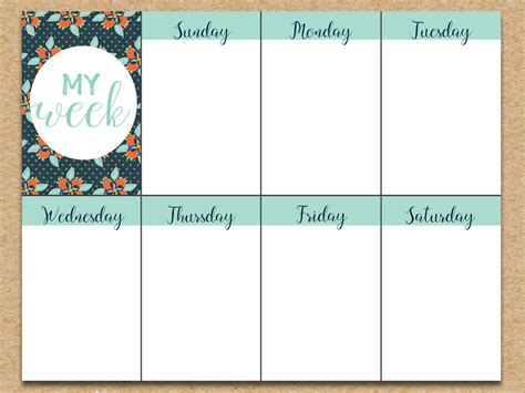 printable planner free download weekly planner printable download free printable graphics