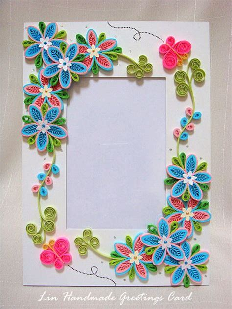 design frame photo easy quilling designs for photo frames
