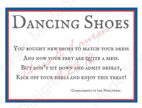 Dancing Shoes Wedding Flip Flop Sign Printables Wedding Shoes Sign Template