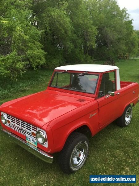 1966 Ford Bronco For Sale by 1966 Ford Bronco For Sale In Canada