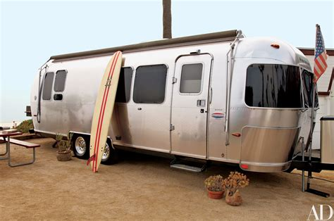 Trailer Homes Interior Matthew Mcconaughey Keeps His Customized Airstream Trailer
