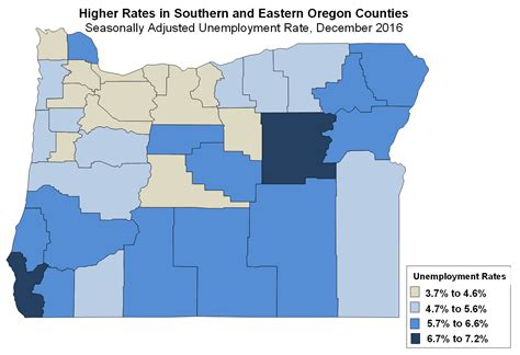 Portland Unemployment Office by Oregon Workforce And Economic Information December