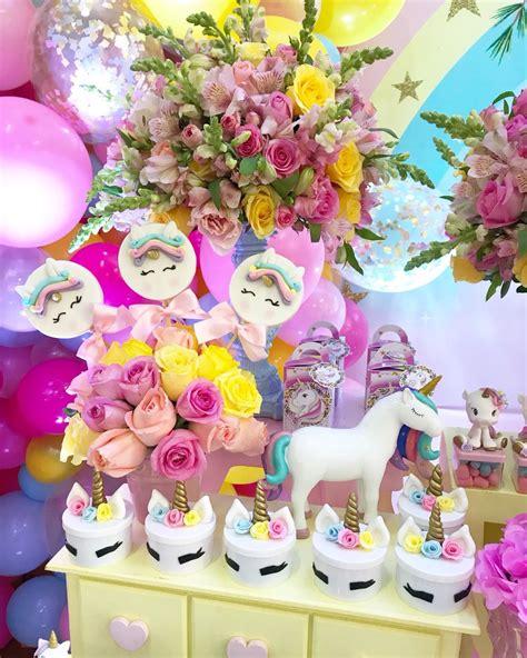 como decorar fiesta de unicornio decoraci 243 n cumplea 241 os unicornio decoraciones tematicas