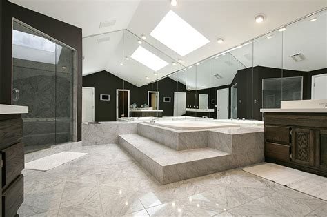 Modern Bathroom Large Tiles 57 Luxury Custom Bathroom Designs Tile Ideas Designing