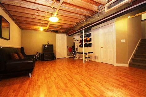 floor awesome basement flooring in modern home with