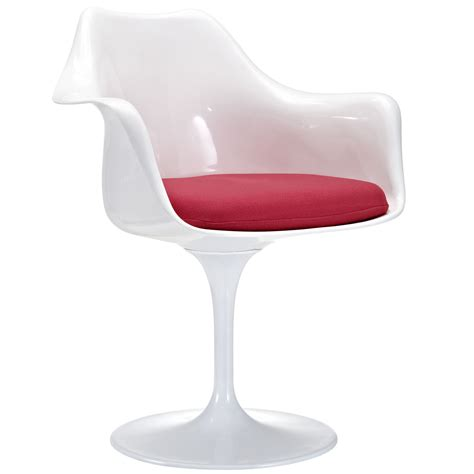 tulip chair eero saarinen style tulip arm chair