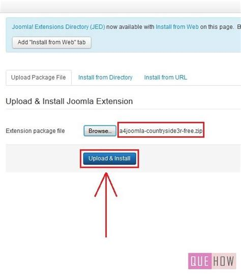how to install template on how to install a new template in joomla 3 x 7 steps with