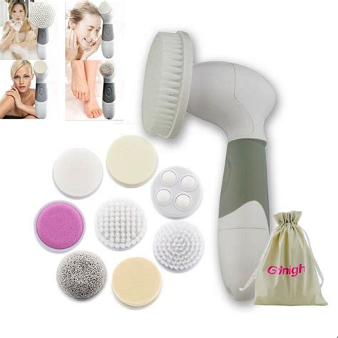 Buy Detox Comb Brush Melbourne Vic by Electric Multifunction Spa Cleansing Brush Set