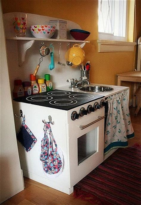 diy play kitchen ideas 10 diy play kitchen sets home with design